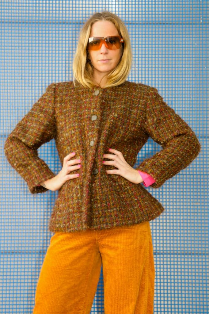 Vintage tweed jacket