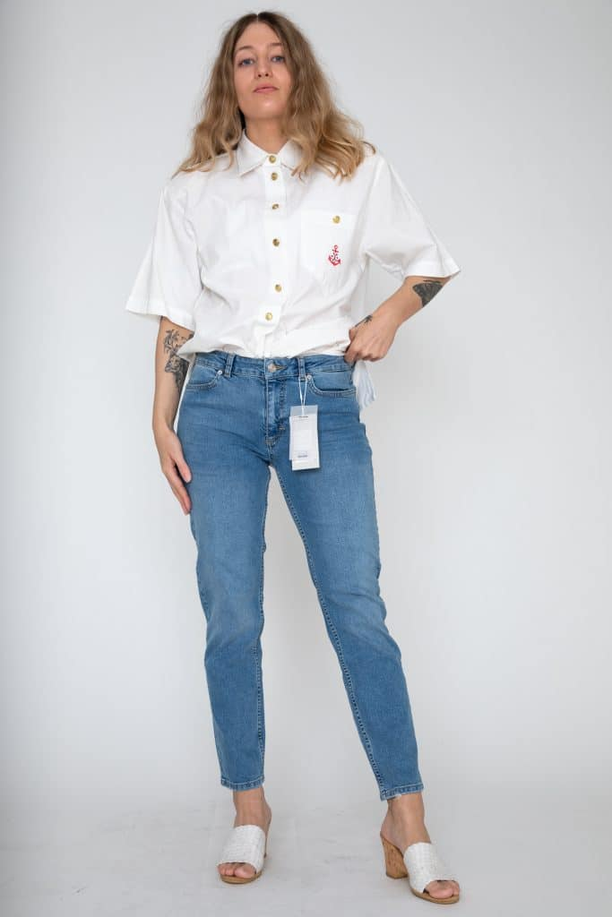 2nd One cropped jeans